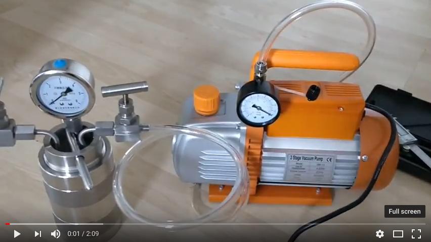 Creating a vacuum
